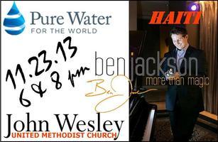 Ben Jackson: LIVE! Pure Water - Haiti Benefit