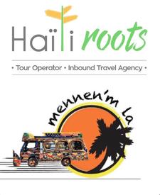HaitiRoots & Mennen'm La logo