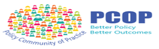 DET Policy Community of Practice (PCOP) logo