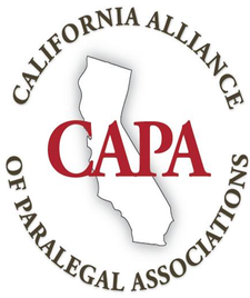 California Alliance of Paralegal Associations logo