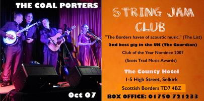 THE COAL PORTERS at STRING JAM CLUB