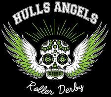 Julia Brown - Hulls Angels Roller Derby logo