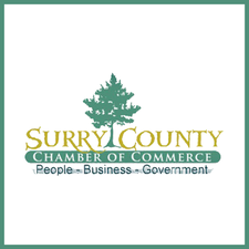 The Surry County Chamber of Commerce logo
