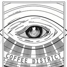 COFFEE DISTRICT  logo