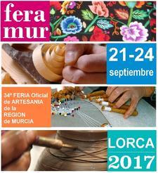 Feria Oficial de Artesanía de la Región de Murcia logo