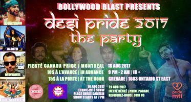 DESI Pride Montreal 2017 Presented by Bollywood Blast