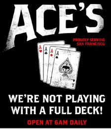 Aces Bar logo