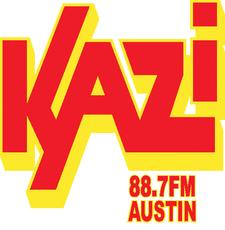Austin Community Radio KAZI 88.7 FM logo
