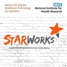 Starworks: Innovation in prosthetics for young people logo