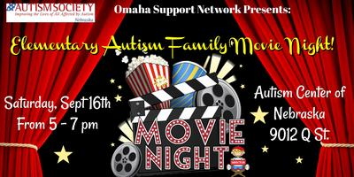Elementary Team's Autism Family Movie Night