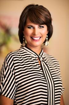 Karen Gillman with On Point Executive Center logo