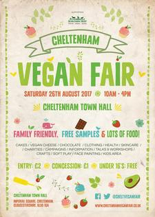 Cheltenham Vegan Fair logo