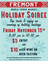 Holiday Soiree at Whole Foods Market Fremont