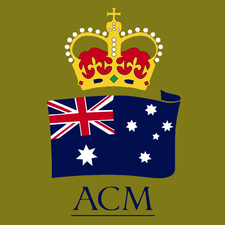 Australians For Constitutional Monarchy, English-Speaking Union and The Royal Society of St George logo