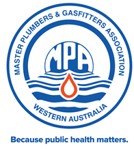 Master Plumbers and Gasfitters Association of WA logo