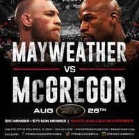 Mayweather Vs McGregor - Watch it LIVE at...