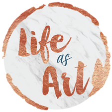 Life as Art logo