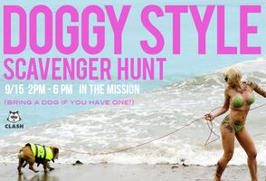 Doggy Style Scavenger Hunt
