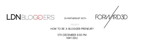 How to be a Blogger-preneur?
