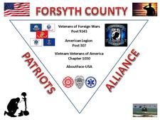 The Forsyth County Patriots Alliance (FCPA) logo