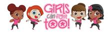 Girls Can Fight Too!  | Divas In Defense  logo