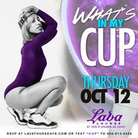 THURSDAY 10.12.17 :: WHAT'S MY CUP???? [FREE GLOW IN...