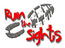 Run the Sights  logo