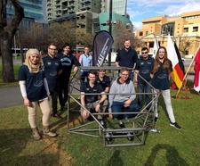 Flinders Automotive Solar Team (FAST) logo