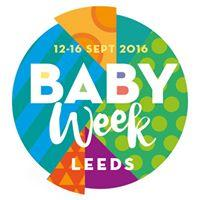 Baby Week. Partly funded by Leeds CCGs Partnership logo