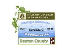 Denton County Military Veterans Peer Network logo
