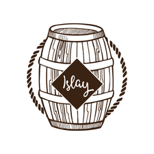 Islay's Barrel logo