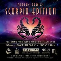 Scorpio Edition || Saturday, November 16 @ RePublic ||...