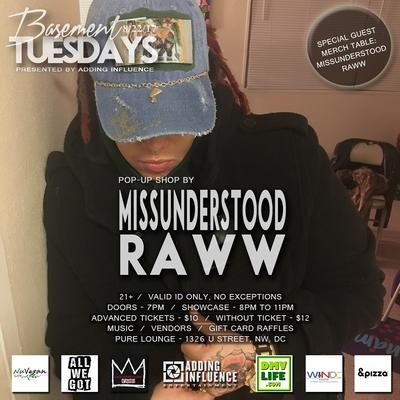 Missunderstood Raww logo