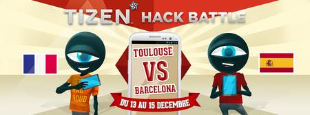 Tizen Hack Battle : Toulouse vs Barcelona