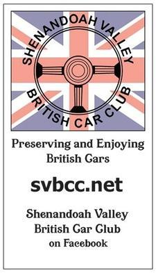 Shenandoah Valley British Car Club logo
