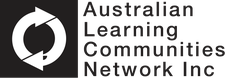 The Australian Learning Communities Network Inc in association with Macquarie University Library and Local Government Professionals Australia, NSW logo