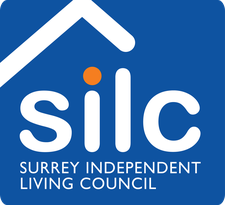 Surrey Independent Living Council (SILC)      logo