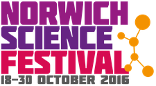 Norwich Science Festival 2016 logo