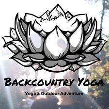 Laura Loewy: Backcountry Yoga logo