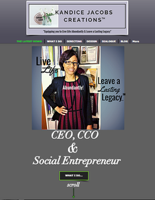 Kandice Jacobs, CEO of Kandice Jacobs Creations, Incorporated logo