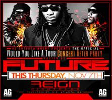 AG Entertainment Presents Future :: Thur 11.07.13 at...