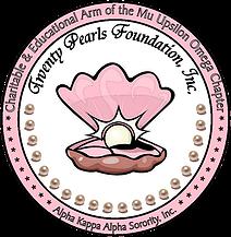 Twenty Pearls Foundation, Inc.  logo