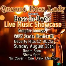 Boss·In·Over Live Music Showcase logo