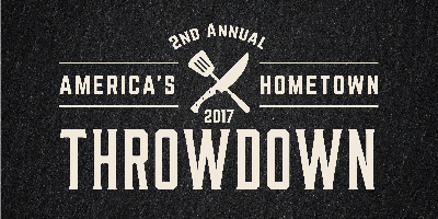2nd Annual America's Hometown Throwdown Chef...
