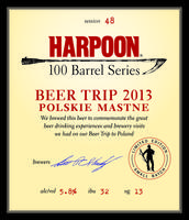 Friend of Harpoon Exclusive - 100 Barrel Series #48...