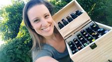 Stacey Jones- Living Well with Essential Oils logo