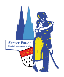 KG Treuer Husar Blau-Gelb von 1925 e.V. logo