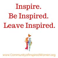 Community of Inspired Women, Inc. |MERGE...merging experiences, relationships, grace, empowerment. logo