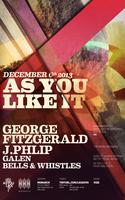 As You Like It with George FitzGerald and J.Philip