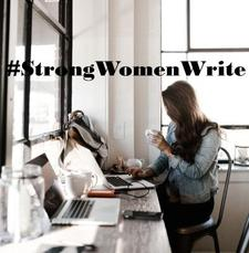 #StrongWomenWrite logo